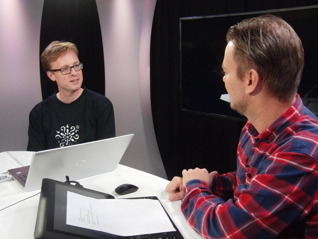 Lars Carlén och Joakim Staf