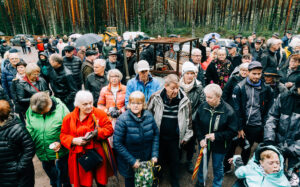 Besökare Femtå Qvarn.